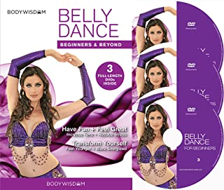 Belly Dance for Beginners Deluxe Video Set: Learn to Belly Dance with Easy to Follow, Fun, Sensual Lessons