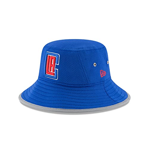 buy online 50c48 278a2 NBA Los Angeles Clippers Adult NE16 Training Bucket Hat, One Size, Light  Royal