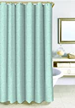 SAM HEDAYA Wellington Shower Curtain, X-Long, Blue