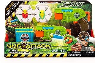 X-Shot Bug Attack Combo Pack- Predator TK3 2 Shooters, 12 darts, 2 bugs (4816)