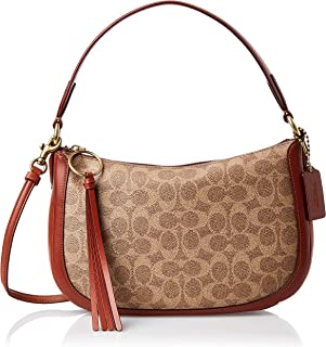 Coach Handbag for Women- Rust