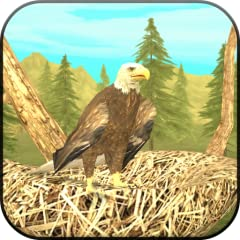 EPIC EAGLE EXPERIENCE - Play as real wild eagle, fly around, have a family, rest in your nest, hunt other animals, become more powerful REALISTIC SIMULATOR - Maintain your health and energy by eating and drinking water, raise your family, explore mas...