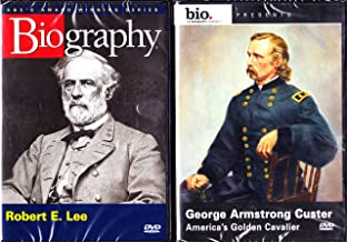 Robert E. Lee Biography , George Armstrong Custer Biography : Great Minds of the Civil War 2 Pack