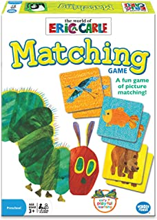 Wonder Forge Eric Carle Matching Game For Boys & Girls Age 3 To 5 - A Fun & Fast Animal Memory Game