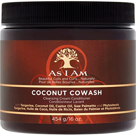 As I Am Coconut Cowash Cleansing Balsamo capelli, 454 g