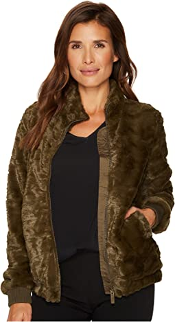 Sanctuary - Furry Chubby Bomber Jacket