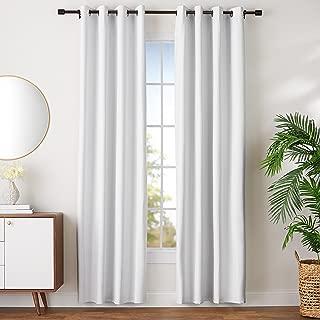 AmazonBasics Room Darkening Blackout Window Curtains with Grommets - 52