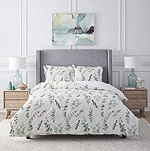 Eucalyptus Combed Cotton Printed Duvet Set