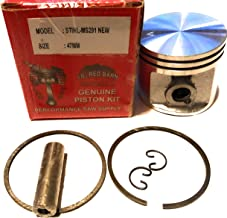 Lil Red Barn Stihl Ms291 Piston Kit 47mm Part # 1141-030-2004 Fits Saws That Use The Round Intake Boot and Clamp Ships from The USA