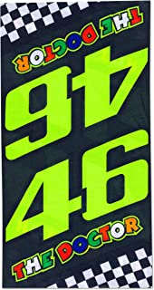 L//XL VALENTINO ROSSI Chapeau Bob VR46 Bande The Doctor Officiel MotoGP Noir