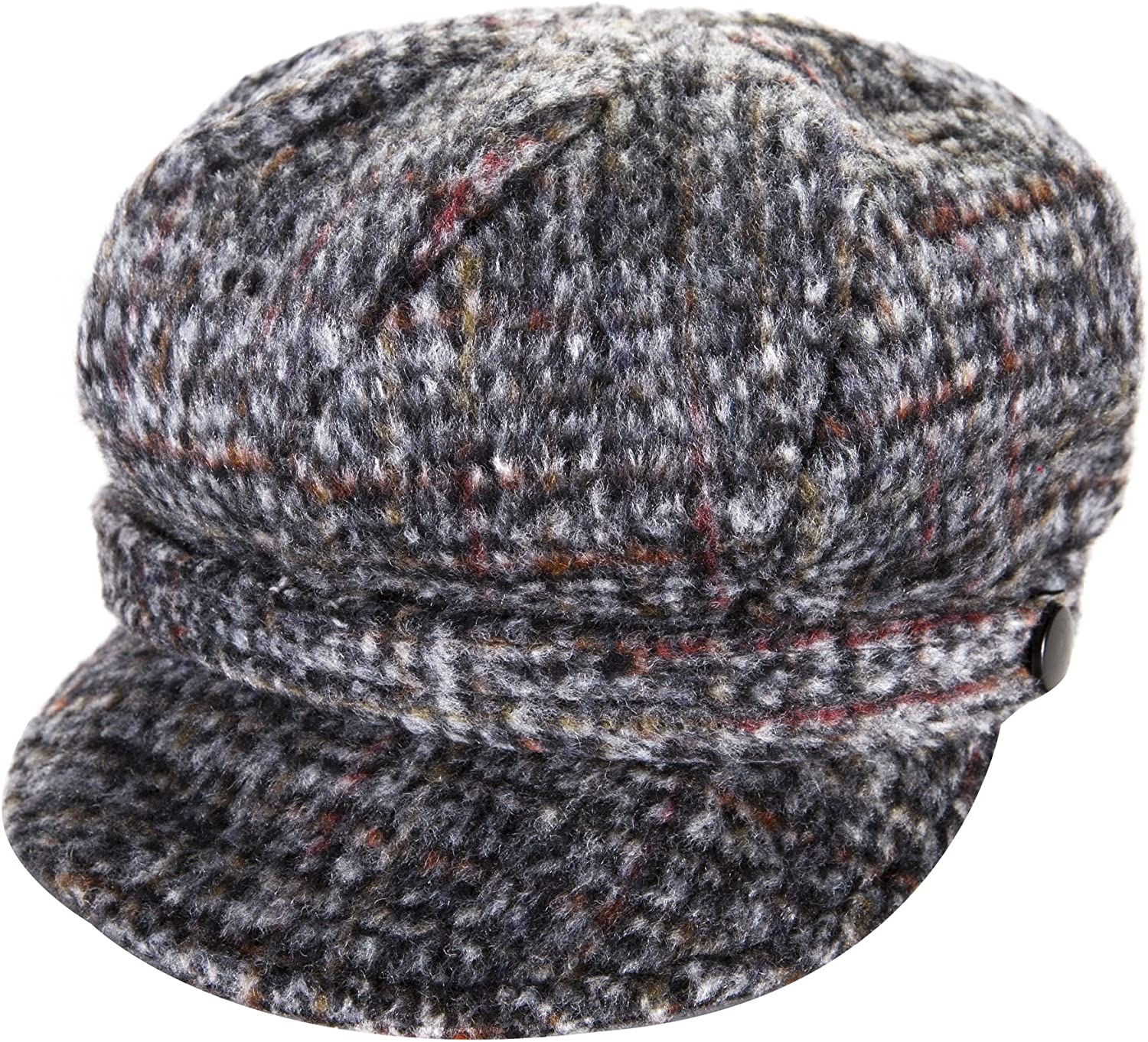 Heritage Traditions Womens Tweed Wool Hat Peaked Cap Bombing Quantity limited free shipping Gr Newsboy