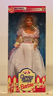 Barbie Doll Special Edition Wal-mart Country Bride 1994