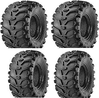 2 FRONT 25-8-12 & 2 REAR 25-10-12 ATV Kenda Bearclaw TIRES