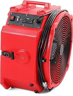 MOUNTO Mt4000A 1/4hp 4000cfm Axial Air Mover Floor Dryer Drum Fan
