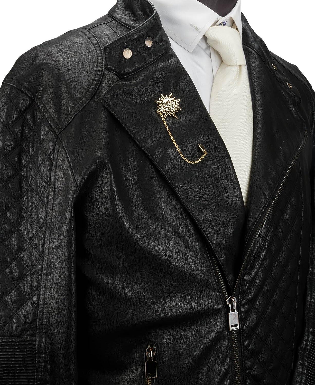 Knighthood Gold Sun with Hanging Tassel Lapel Pin/Brooch/Shirt Stud Lapel Pin