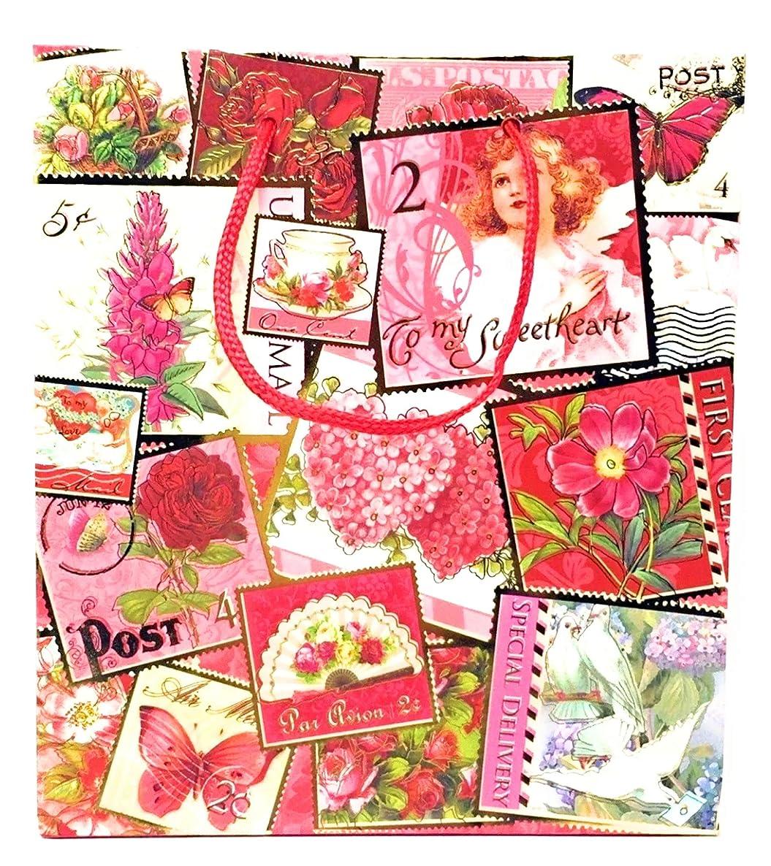 Punch Studio Ephemera Sweetheart Gift Bag 57017