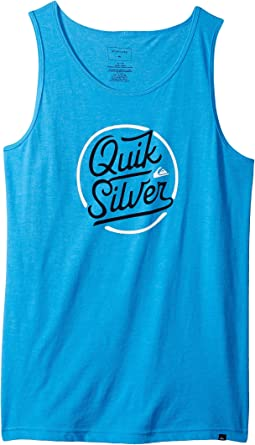 Circle Script Tank Top (Big Kids)