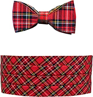 Cravatta a Farfalla Antiche Lamont TARTAN DI LANA PETTINATA Kilt Scozzese Made highlandwear NUOVO