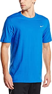 Nike Men's Swoosh Cotton Crew T-Shirt