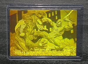 1993 Marvel Universe IV Spider-Man vs. Venom H-IV 3-D Hologram NM/M