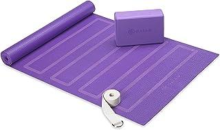 (Purple) - Gaiam Beginner's Yoga Kit, Purple