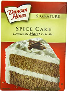 Duncan Hines Signature Cake Mix, Spice Cake, 16.5 Ounce (Pack of 6)