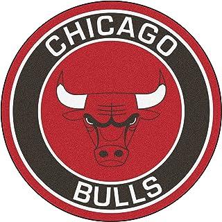 "FANMATS 18830 NBA Chicago Bulls Roundel Mat, 27"" Diameter"