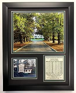 Legends Never Die Augusta National Golf Course Magnolia Lane Framed 12