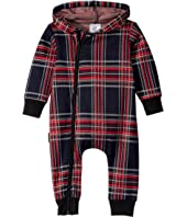 Check Hooded Romper (Infant)