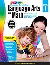Spectrum Language Arts and Math, Grade 1: Common Core Edition