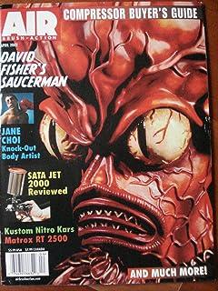 Airbrush Action Magazine - April 2002 (Volume 17, Number 6)