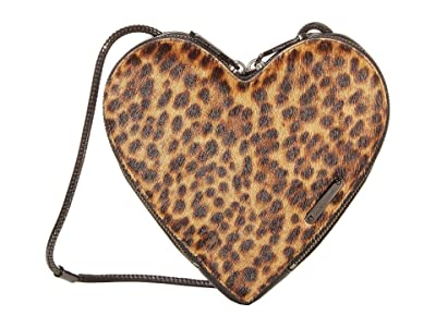 Rebecca Minkoff Heart Crossbody (Leopard) Cross Body Handbags