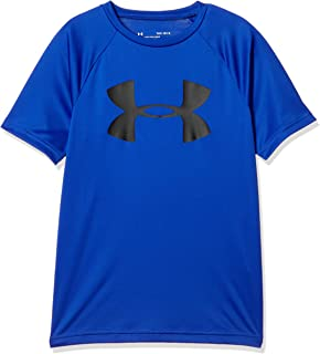 Under Armour Boy's Tech Big Logo Short Sleeve Top