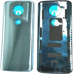 Rear Battery Door Housing Back Cover Replacement for Motorola Moto E5 Plus XT1924 XT1924-3 XT1924-7 XT1924-8 Blue