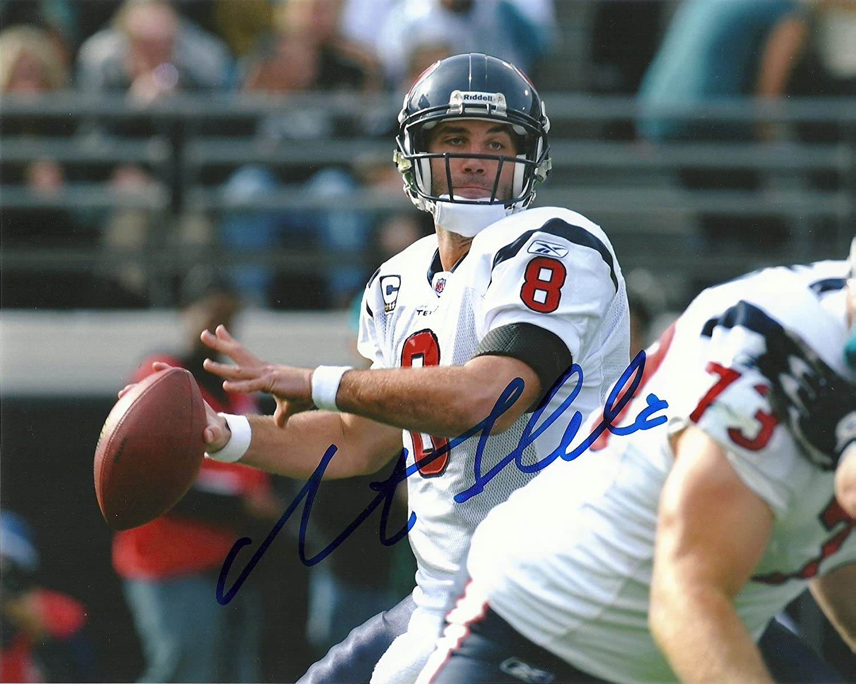 Many popular brands Matt Schaub Houston Texans New item Signed 8x10 coa Photo Autographed