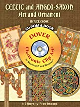 Celtic and Anglo-Saxon Art and Ornament in Full Color CD-ROM and Book (Dover Electronic Clip Art)