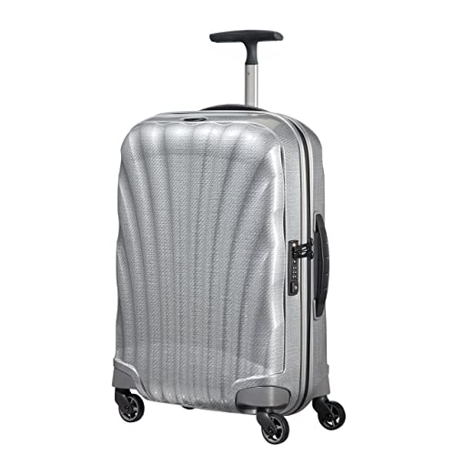 cf2b4114a Samsonite Hand Luggage, 55 cm, 36 Liters, Silver
