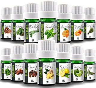 Aroma2Go – Cooking Set of 14 Natural Pure Plant-Based Essential Oils – Top Selling Aromatherapy Bundle Set – Therapeutic G...