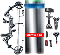 "Compound Bow Topoint Archery Package M1, 19""-30"" Draw Length,19-70Lbs Draw Weight,320fps IBO Limbs Made in USA"