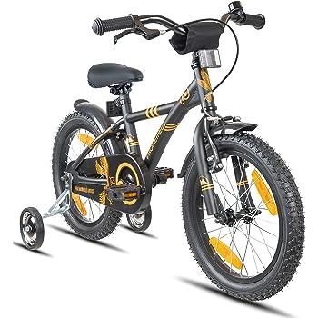 Prometheus Bicicleta Infantil   16 Pulgadas   niño y niña   Negro ...