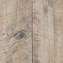 400 cm breit 300 BODENMEISTER BM70555 Vinylboden PVC Bodenbelag Meterware 200 Holzoptik Schiffsboden Eiche wei/ß