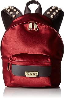 ZAC Zac Posen Eartha Iconic Small Backpack-Satin & Pearls