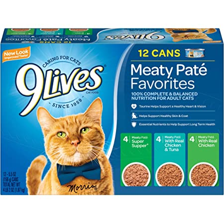 9lives Variety Pack Favorites Alimento Húmedo Para Gatos Mascotas
