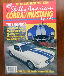 Shelby American Cobra/mustang Guide, Vol. 5, No. 1 (Hot Rod Automotive Series)