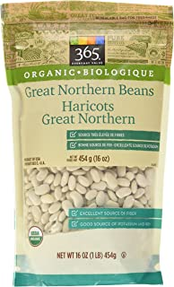 365 Everyday Value Organic Dried Great Northern Beans, 16 oz