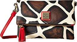 Dooney & Bourke - Serengeti Fold-Over Zip Crossbody