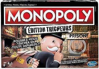 Monopoly - Jeu de Societe Tricheurs - Jeu de Plateau - Version Française