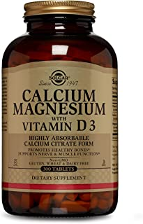 calcium citrate magnesium zinc vitamin d3 tablets benefits