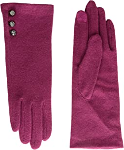 LAUREN Ralph Lauren - Three-Button Touch Glove