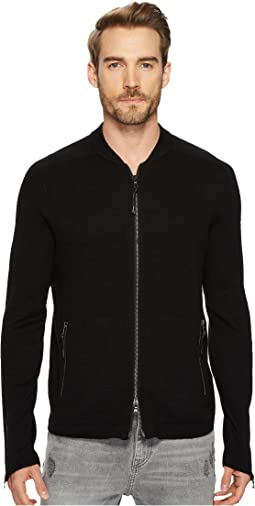 John Varvatos Star U.S.A. - Zip Front Sweater
